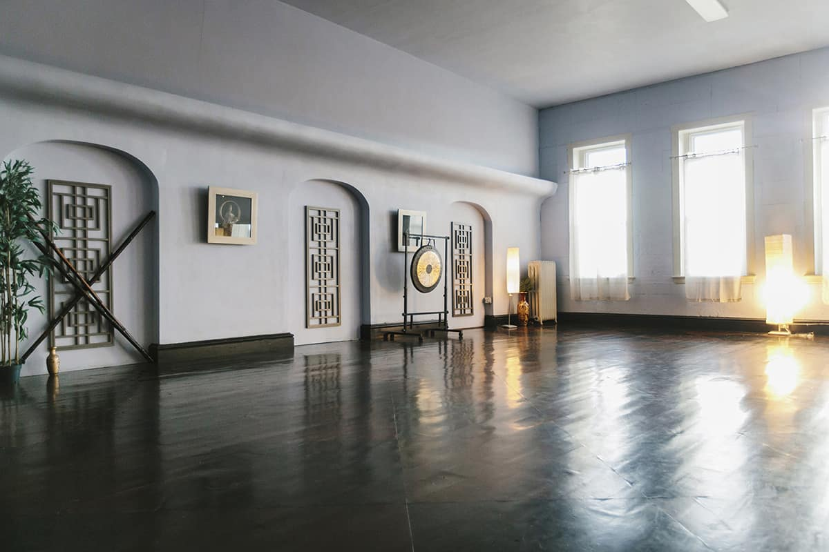 open space used for workshops