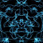 abstract mandala projection